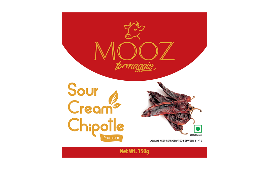 mooz sour cream chipotle pack 150 grams  gotochef