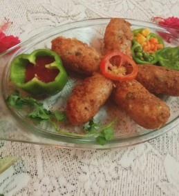 Dal Chawal Cheese Croquette Recipe