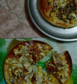 Gremolata Paneer Pizza Recipe