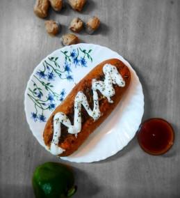 Veg Hot Dog Recipe
