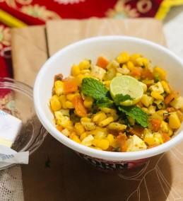 Masala Sweet corn Salsa Recipe