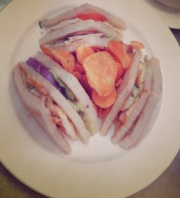 Veg. Club Sandwich Recipe