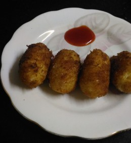 Rice Cheese Cutlet Recipe