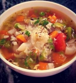 Veg. Minestrone Soup Recipe