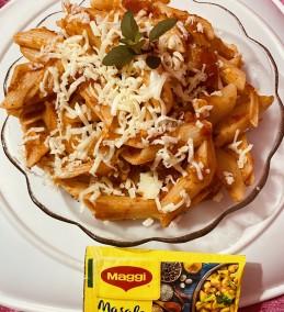 Red Sauce Penne Pasta Recipe