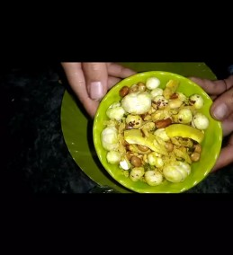 Flatten Rice and Foxnut Namkeen Recipe