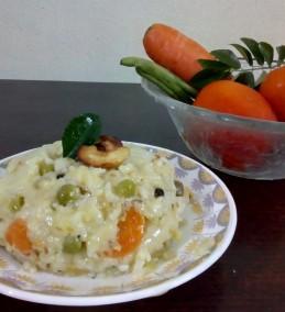 Multi Vegetable pongal Recipe