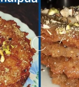 Suji Malpua Recipe