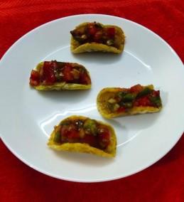 Ragi floor mini tacos recipe