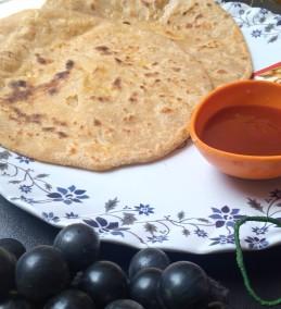 Poha stuffed Paratha Recipe