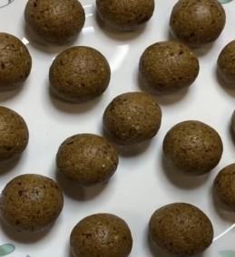 Rajgira/Amarnath Flour Laddu Without Sugar / Jaggery Recipe