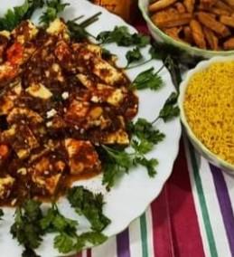 Chatkhara paneer chaat Recipe