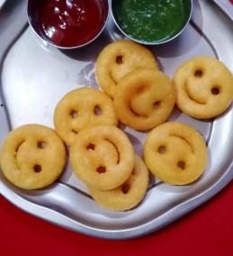 Aloo smiley Recipe