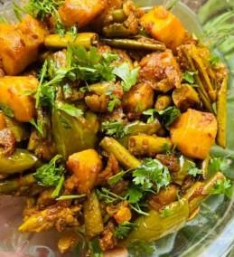 Masala Aalu Parwal Recipe