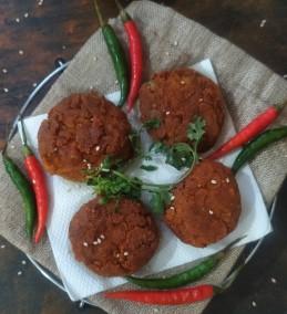 Cheesy Atta Galouti Kebab Recipe