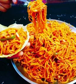 Veg singapuri chowmin (Noodles) Recipe