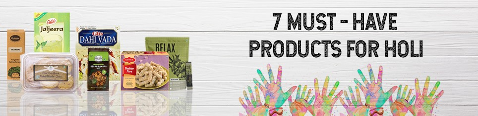 7 Must Have Products for Holi